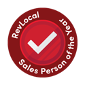 Sales Person of the Year Award Badge