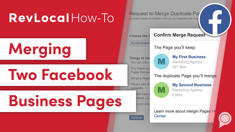 RevLocal How-To: Merging Two Facebook Business Pages