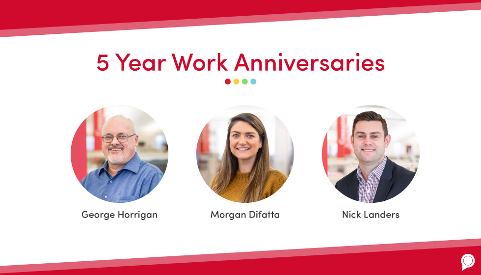 September 2019 RevLocal work anniversaries and promotions
