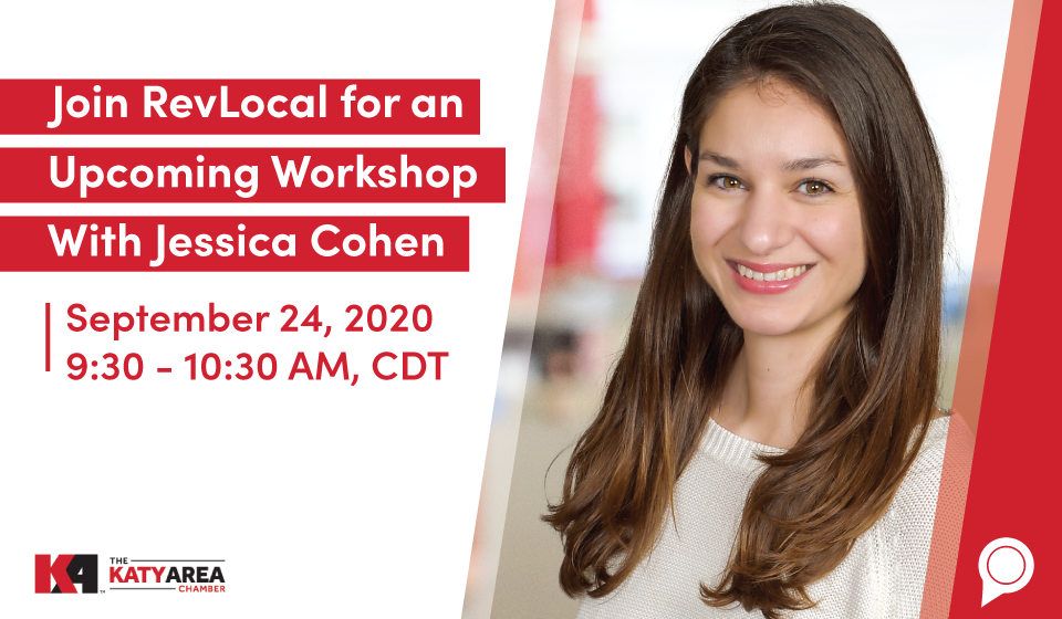 Join RevLocal for an Upcoming Workshop With Jessica Cohen