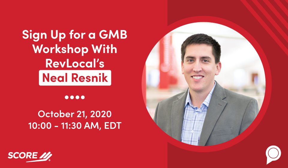 Sign Up for a GMB Workshop With RevLocal's Neal Resnik