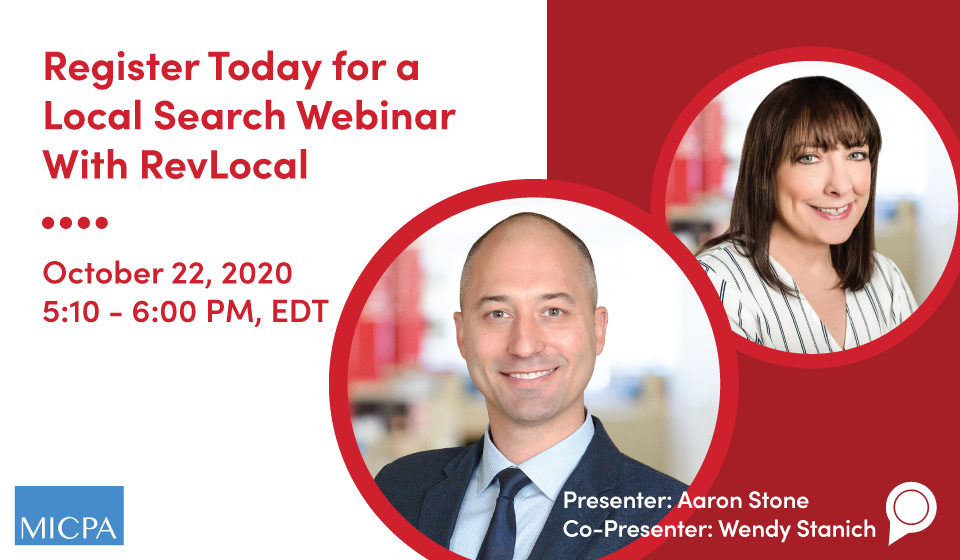 Register Today for a Local Search Webinar With RevLocal