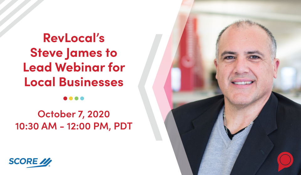 RevLocal's Steve James to Lead Webinar for Local Businesses